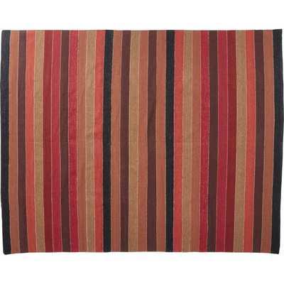 Entrada Multicolor Flatweave Rug 8'x10' - CB2