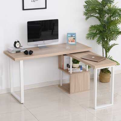 Alene L-Shape Desk - Wayfair