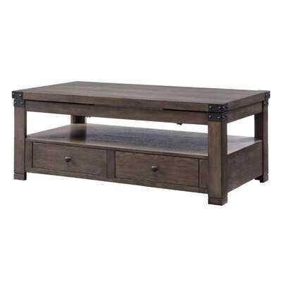 Lift Top Coffee Table In Ash Gray - Wayfair