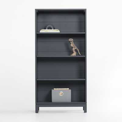 Parke Charcoal Bookcase - Crate and Barrel
