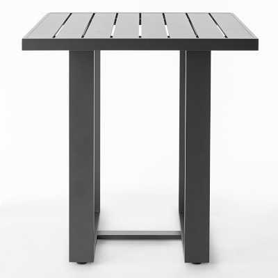 Santa Barbara Outdoor Bar Table, Slate Grey - Williams Sonoma