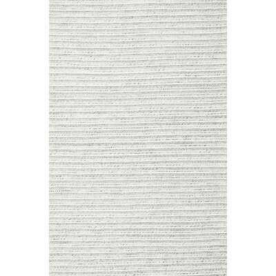 Contemporary Off White Area Rug - Wayfair