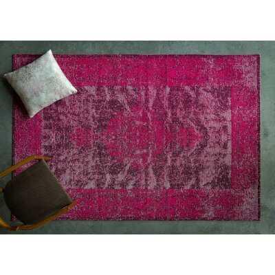 Chabert Oriental Pink Area Rug - Wayfair