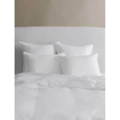 "SFERRA Arcadia Cotton Lumbar Pillow Size: 20"" X 36"", Comfort Level: Soft - Perigold"
