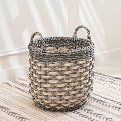 Valeria Wicker Basket - Wayfair