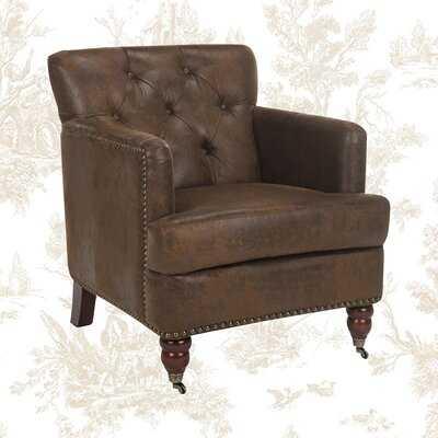 Sevigny Armchair / Brown - Wayfair
