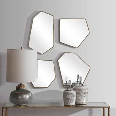 Linneah Modern Mirrors, S/4 - Hudsonhill Foundry