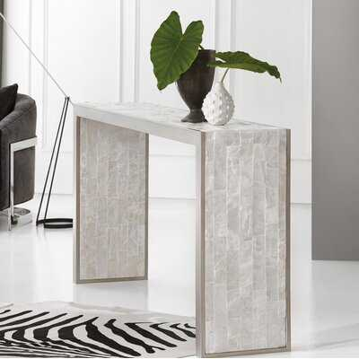 Melange Emma Console Table - Wayfair