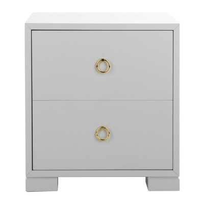 Safavieh Couture Couture Laila Accent Cabinet Color: Grey - Perigold