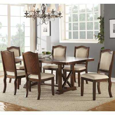 Chevaliers 7 Piece Extendable Dining Set - Birch Lane