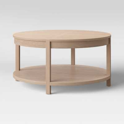 Porto Round Wood Coffee Table Light Brown - Project 62 - Target