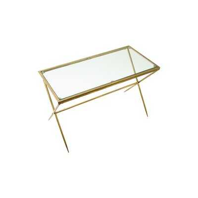 Kirkham Cross Legs Coffee Table - Wayfair