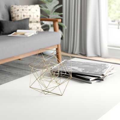 Metal Wire Sphere Sculpture - Wayfair