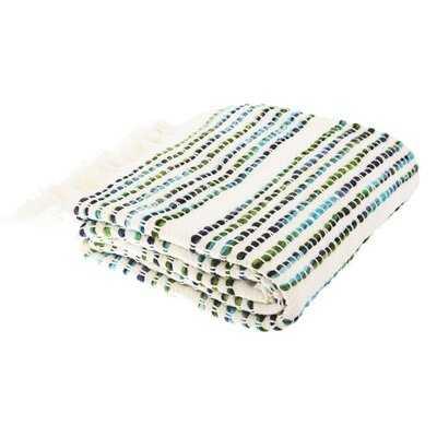 Krum Cotton Blanket - AllModern