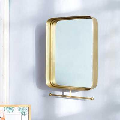 Attie Shelves  Bathroom / Vanity Mirror - Wayfair