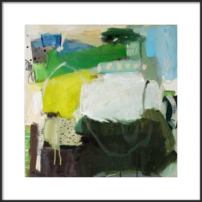 Green Velvet by Gina Cochran for Artfully Walls - Artfully Walls