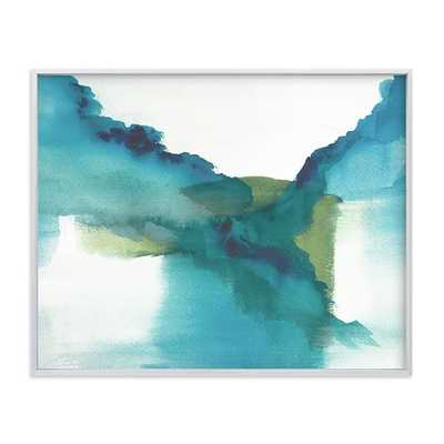 "Enchant II, 20""x16"", Brushed Silver - West Elm"