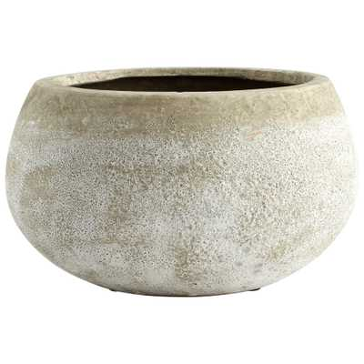 Small Round Stoney Planter - Onyx Rowe