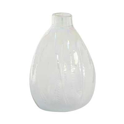 White 15.85'' Glass Table Vase - Wayfair