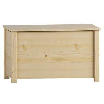 Toy Chest- Unfinished Wood - Wayfair