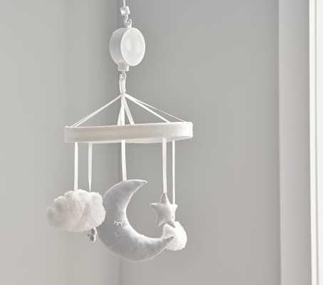 Skye Moon & Stars Felt Crib Mobile - Pottery Barn Kids