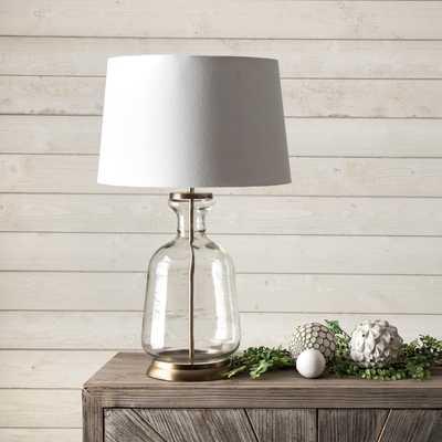 "Eagan 24"" Glass Table Lamp - Loom 23"
