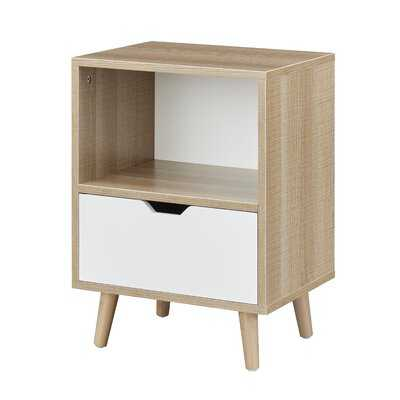 Tray Top End Table Storage - Wayfair