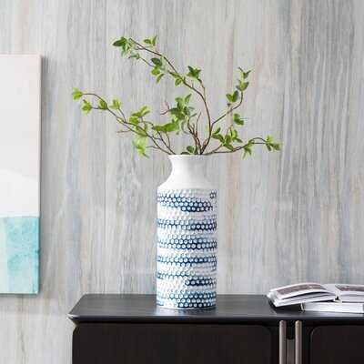 Nantucket Blue Vase - Wayfair