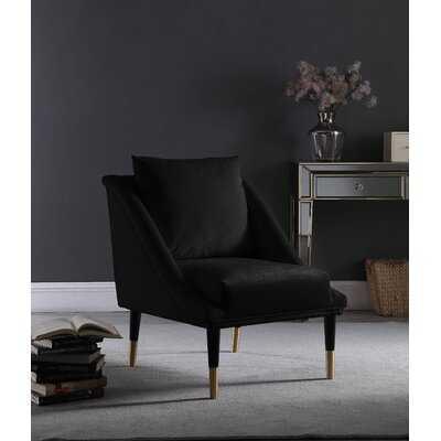 Eldert Velvet Club Chair - Wayfair