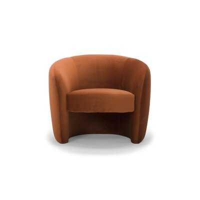 """Natalie 24"""" Barrel Chair - Wayfair"""