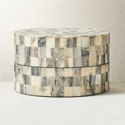 Resin Round Box Small - CB2