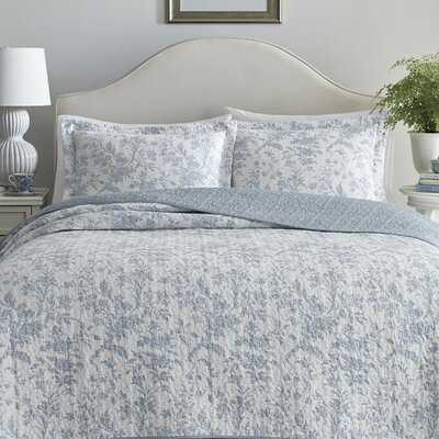 Amberley Cotton Reversible Quilt Set - Birch Lane
