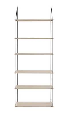 6 Tier Metal & Wood Wall Shelves - Nomad Home