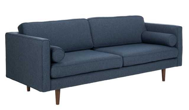 Hurley Mid Century Sofa - Dark Blue - Arlo Home - Arlo Home