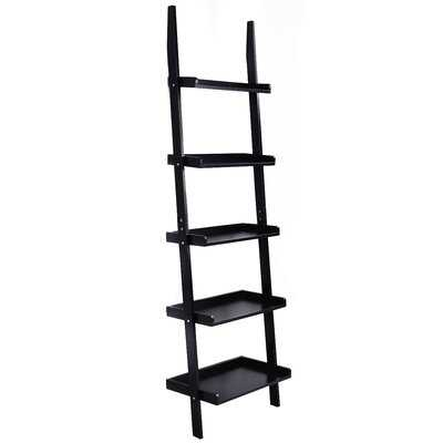 Toughkenamon 74.8'' H x 22'' W Ladder Bookcase - Wayfair