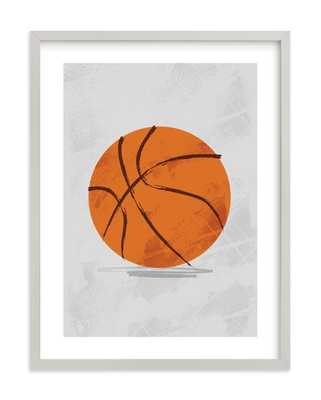 Let Us Play Basketball Children's Art Print - Minted