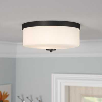 Sanderson 2-Light Flush Mount - Wayfair