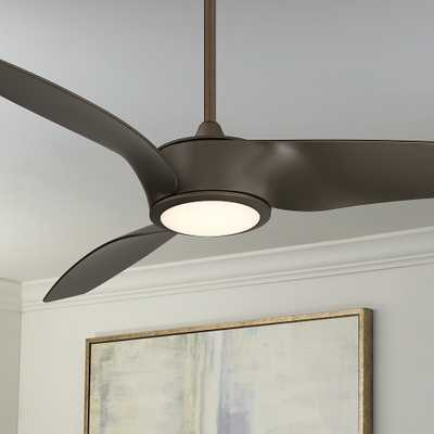 "56"" Casa Como Oil Rubbed Bronze Wrap LED Ceiling Fan - Style # 79D71 - Lamps Plus"