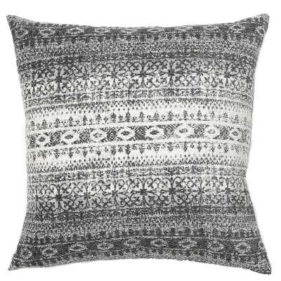 TOSS by Daniel Stuart Studio Merida Feathers Abstract Throw Pillow Color: Gray - Perigold