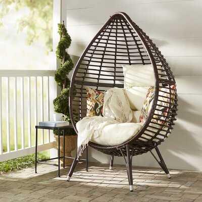 Teardrop Patio Chair with Cushions - Birch Lane