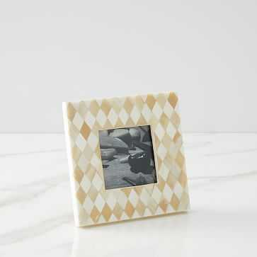 Inlay Diamond Frame, Small - West Elm