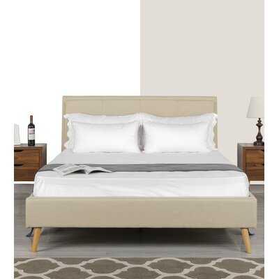 Crumpton Upholstered Platform Bed - Wayfair