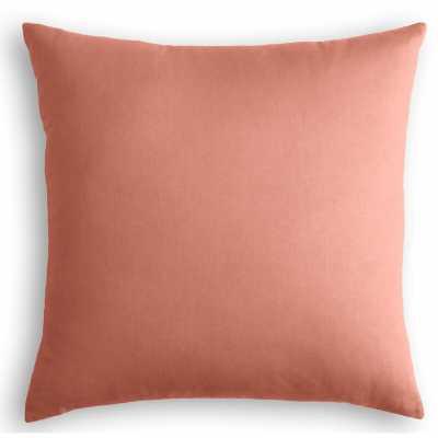"Loom Decor Velvet Throw Pillow Color: Pink, Size: 20"" x 20"" - Perigold"