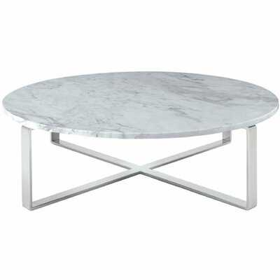 Orian Marble Coffee Table - Wayfair