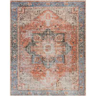 Artistic Weavers Gilda Rose 8 ft. 10 in. x 12 ft. Distressed Area Rug, Pink - Home Depot