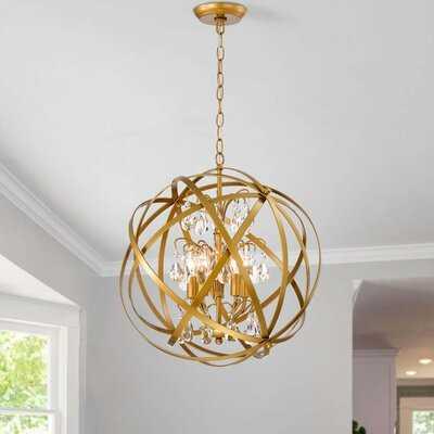 Ferrel 5 - Light Globe Chandelier - Wayfair