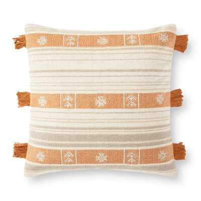 Decorative Square Pillow Cover and Insert - Wayfair