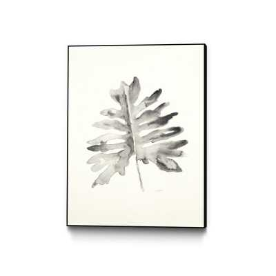 "'Black and White Palm II' Framed Print Size: 14"" H x 11"" W - Perigold"
