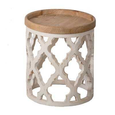 Yerington Solid Wood Tray Top Frame End Table - Wayfair