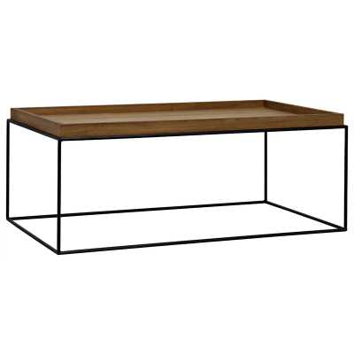 Noir Coffee Table with Tray Top - Perigold